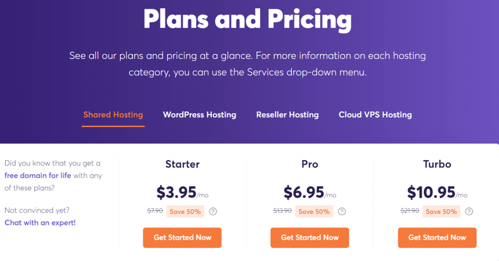 ChemiCloud Shared hosting discount