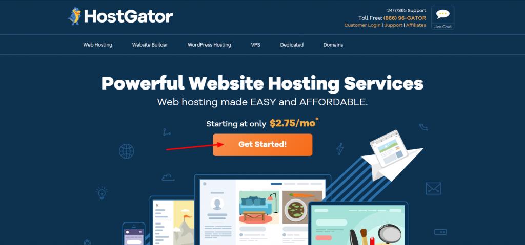 Claim HostGator discount